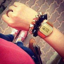 Piękny zegarek + bransoletk...