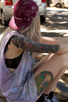 Tatuaże.//
