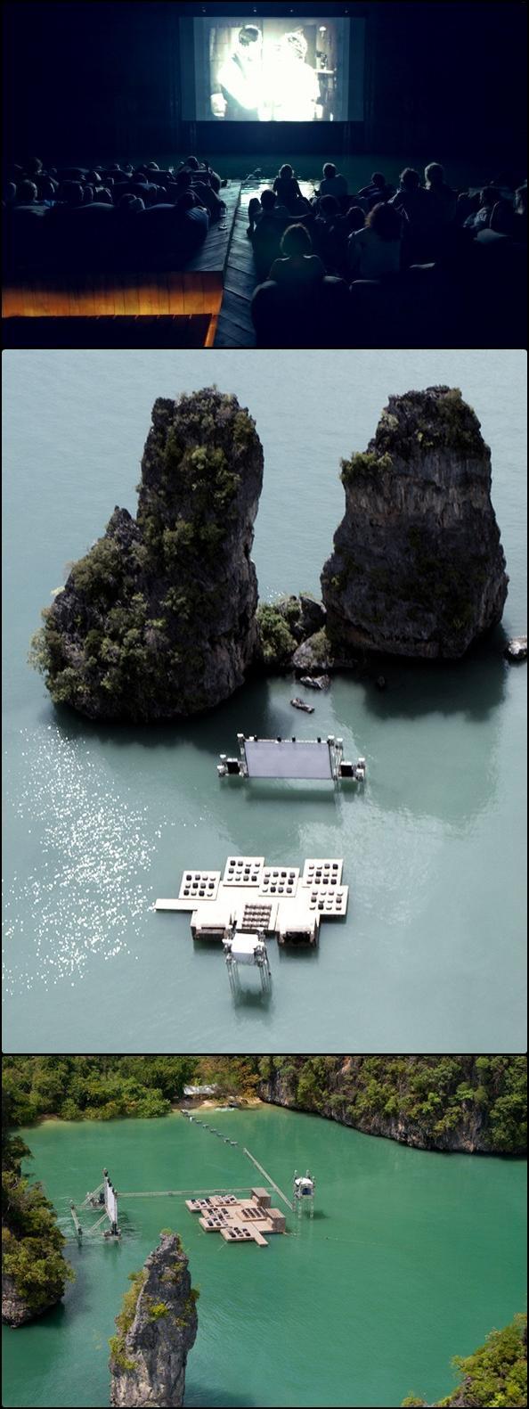 Piękne kino na wodzie!
