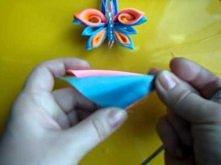 KANZASHI Jak zrobić motylka