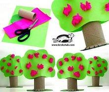 Drzewo = papier + nożyczki