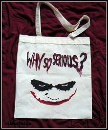 """""""Why so serious?"""" - jeśli jesteś zainteresowana zakupem torby z tak..."""