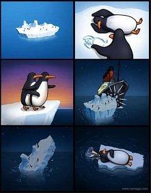 Titanic wersja pingwinia XD