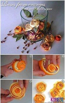 pomysł na kwiatuszki