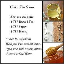 green tea scrub (zielona he...