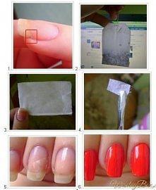 Ratunek dla pękniętych paznokci! Naprawdę polecam tą metodę :)