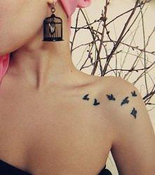 Obojczyk + tatuaż = CUDO *.*