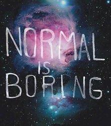 Normal is..
