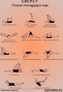odrobinę jogi na rozciąganie :))