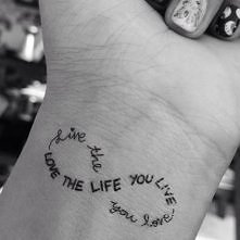 love the live you live