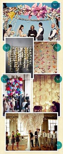 Pomysły na papierowe dekoracje