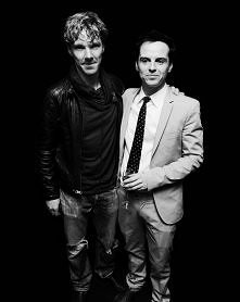 "Benedict Cumberbatch and Andrew Scott. ;)  ""Sherlock"" <3"