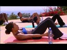 Mel B trening brzucha płaski brzuch w 10 minut
