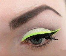 neonowy makijaż :)