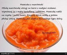 maseczka z marchwi