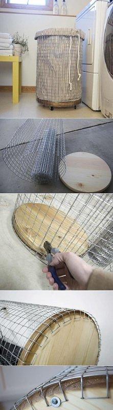 diy, diy projects, diy craft, handmade, diy ideas, diy easy laundry basket