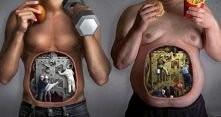 Problemy z motywacją? Wyobraź sobie własny organizm przy spożywaniu niezdrowy...