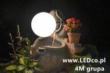 Świecąca kula ogrodowa. Do kupienia na LEDco.pl