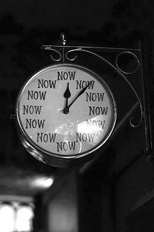 Now or never.