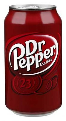 Dr pepper litrami :)