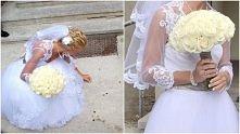 Róże - bukiet ślubny