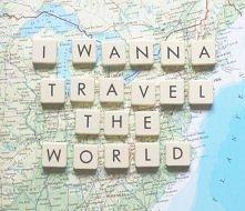 Chcę podróżować po świecie :)