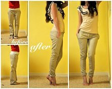 spodnie rurki :)