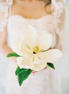 Kwiat do ślubu, zamiast buk...
