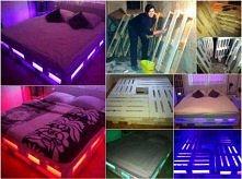łóżka z palet :)