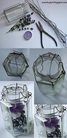 Jak zrobić samemu lampion ze słoika :)