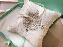 poduszka na obrączki :)