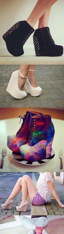 buty na wysokich koturnach :)