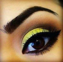Uroczy make upik z neonowym akcentem - MISTRZOSTWO!!!