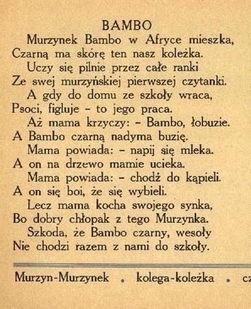 Wierszyk Bambop Na Dzieciństwo Zszywkapl