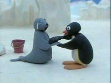 Pingwinek noot noot :) i kazdy chcial go ulepic z plasteliny :)