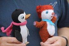 Pingwinek pik-pok i Mis kolargol :)