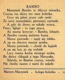 wierszyk Bambo:P