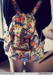 Ładny plecak ;>