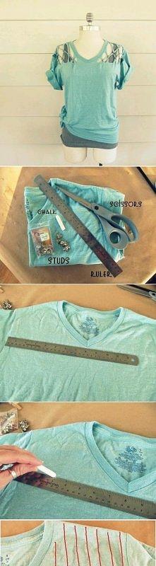 DIY koszulka ;)