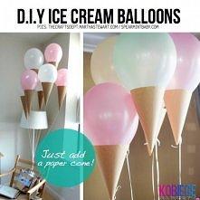 ze zwyklych balonow- lody