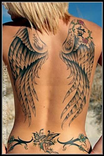 Skrzydła Anioła Na Tatuaże Zszywkapl