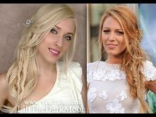 Summer party hairstyle for long hair with boho chic braids inspired by Blake ...
