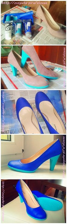 Sposób na odnowienie zamszowych/welurowych butów, których kolor już Ci się zn...