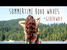 Summertime Boho Waves