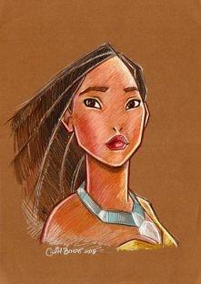 Pocahontas of Disney by ~joaquimbundo