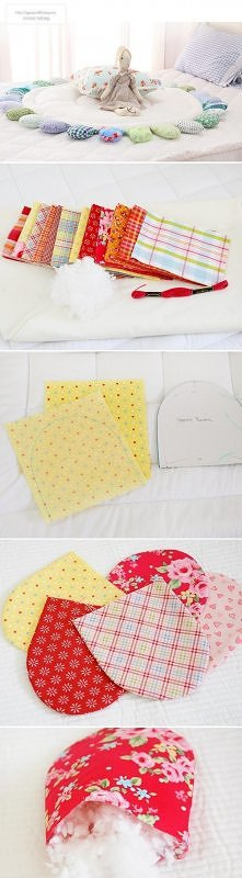 diy, children, rug, patchwork
