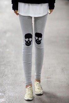 Czachy! Nosiłybyście takie legginsy?