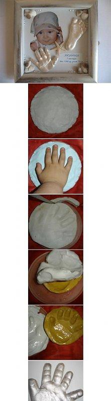 diy, baby, hands, feet, dec...