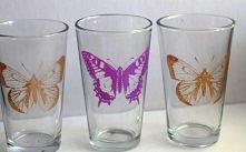 DIY szklaneczki z wzorkami,...