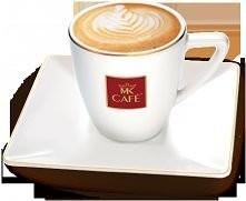 Cappuccino  Składniki: - 100 ml kawy (espresso lub mokka) - 150 ml schłodzonego tłustego mleka  Przygotowanie: Podgrzej mleko do temperatury 60 stopni. Następnie spień je za pom...